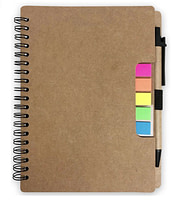 Eco-Friendly Coil Notebook with Pen