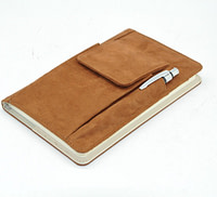 Flannel Notebook with Pocket