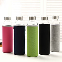 Glass Bottle with Fabric Casing 550ml
