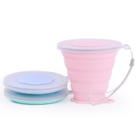 270ml Silicone Collapsible Travel Cup