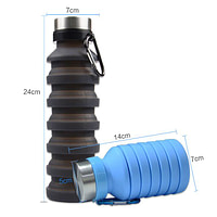 500ml Collapsible Silicone Bottle