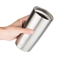 Double Insulated Stainless Steel Tumbler with Lid 600ml