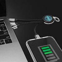 LED Charging Cable with Type-C