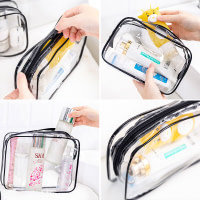 Clear Toiletries Pouch with Zipper