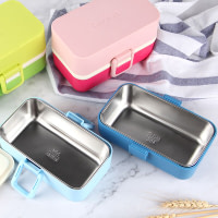 Double Layer Stainless Steel Lunch Box