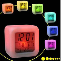 LCD Clock Color Changing