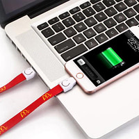 Lanyard Charging Cable 3 in 1