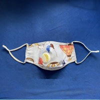 Reusable Adult Filter Mask PM2.5 (2-14 Years Old Extra Filters)