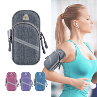 Sport Armband Pouch with Earphone Slot