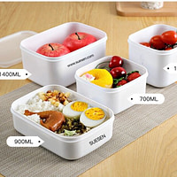 Microwavable Reusable PP Lunch
