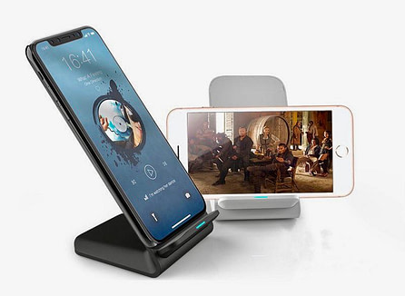 Qi Fast Charge Wireless Charger Phone Stand
