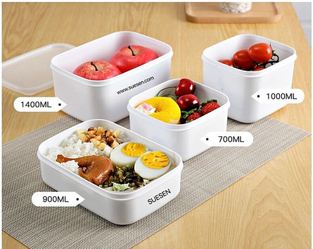 Microwavable & Reusable PP Lunch Box