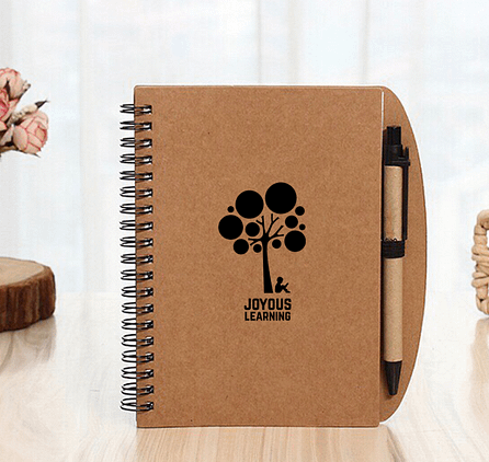 Trendy PP Eco-Friendly Notebook with Ball Pen