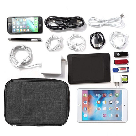 Double Layer Gadgets & Organizer Pouch