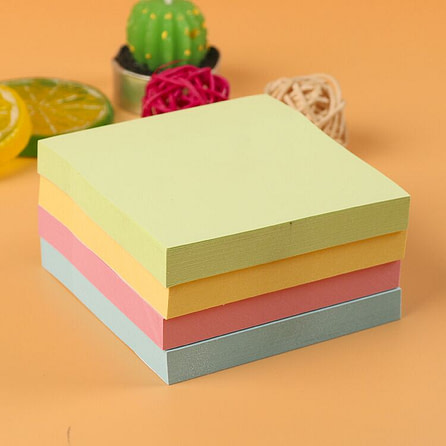 Ardcard Cover Post It Pad