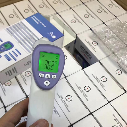 (SG Ready Stock) Non-contact Infrared Thermometer (with Certification)